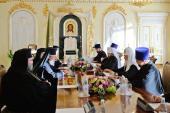 A avut loc întâlnirea Sanctității Sale Patriarhul Chiril cu Preafericitul Arhiepiscop al Ciprului Hrisostom