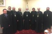 Завершился визит Блаженнейшего Патриарха Александрийского Феодора