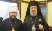Завершилось пребывание в Москве Предстоятеля Кипрской Православной Церкви