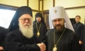 Завершился визит Предстоятеля Албанской Православной Церкви в Москву