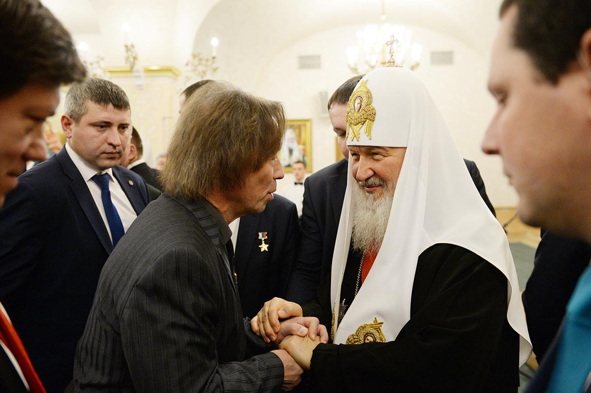 Поздравление Святейшего Патриарха Кирилла с 70-летием со дня рождения