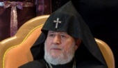Слово Верховного Патриарха и Католикоса всех армян Гарегина II на приеме по случаю 70-летия Святейшего Патриарха Московского и всея Руси Кирилла