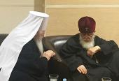 Завершился визит в Москву Предстоятеля Грузинской Православной Церкви
