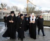 A luat sfârșit vizita de lucru a Sanctității Sale Patriarhul Chiril la Mitropolia de Kaliningrad