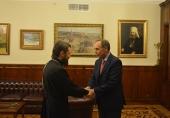 Председатель ОВЦС встретился с послом Болгарии в России