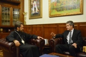 Митрополит Волоколамский Иларион встретился с послом Чили в России