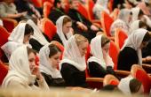 Întâlnirea Sanctității Sale Patriarhul Chiril cu participanții la I-ul Congres internațional al regenților și cantorilor Bisericii Ortodoxe Ruse
