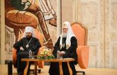 Святейший Патриарх Кирилл встретился с участниками I Международного съезда регентов и певчих Русской Православной Церкви