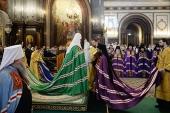 Слово Святейшего Патриарха Кирилла при вручении архиерейского жезла Преосвященному Матфею (Самкнулову), епископу Шуйскому и Тейковскому