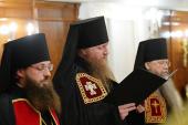 Слово архимандрита Евфимия (Максименко) при наречении во епископа Усманского, викария Липецкой епархии