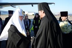 Святейший Патриарх Кирилл прибыл во Францию