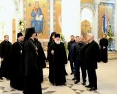 Предстоятель Русской Церкви посетил Православный духовно-культурный центр во французской столице
