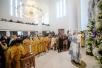 Патриарший визит в Корсунскую епархию. Освящение Свято-Троицкого собора в Париже. Литургия. Встреча с мэром французской столицы