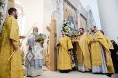 Святейший Патриарх Кирилл освятил Свято-Троицкий собор в Париже