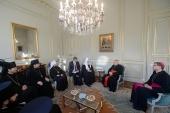 Святейший Патриарх Кирилл встретился с католическим архиепископом Парижа кардиналом Андре Вен-Труа