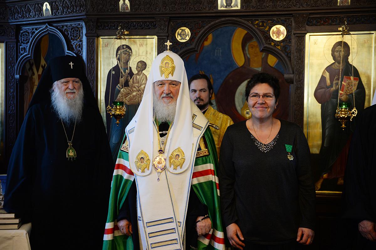 Патриарший визит в Корсунскую епархию. Посещение Духовно-образовательного центра при Корсунской епархии