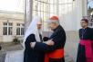 Патриарший визит в Корсунскую епархию. Встреча с архиепископом Парижа кардиналом Андре Вен-Труа