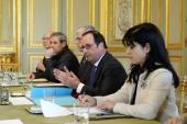 Патриарший визит в Корсунскую епархию. Встреча с Президентом Франции Ф. Олландом