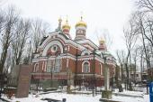 Патриарший экзарх всея Беларуси возглавил торжества престольного праздника в Александро-Невском храме города Минска