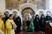 Предстоятель Русской Православной Церкви совершил Божественную литургию в храме Воскресения Христова в Цюрихе
