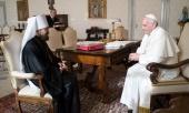 Митрополит Волоколамский Иларион встретился с Папой Римским Франциском