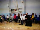 По благословению председателя Синодального отдела по делам молодежи в Выборгской епархии прошли соревнования среди инвалидов по паралимпийскому виду спорта
