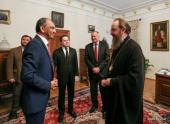 Управляющий делами Украинской Православной Церкви встретился с руководителями национальных Библейских обществ мира