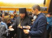 В Страсбурге состоялось заключительное мероприятие духовно-просветительского проекта Украинской Православной Церкви, посвященного 1000-летию русского монашества на Афоне