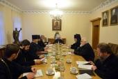 Состоялось заседание Комиссии по делам старообрядных приходов и по взаимодействию со старообрядчеством