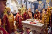 В день памяти вмц. Варвары Блаженнейший митрополит Онуфрий возглавил торжества престольного праздника в храме при Киевской областной клинической больнице