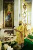 Патриарший визит в Санкт-Петербургскую епархию. Литургия в Александро-Невской лавре. Встреча с главой Рособрнадзора