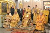 В день памяти святителя Николая Чудотворца митрополит Иларион совершил богослужение на московском подворье Православной Церкви Чешских земель и Словакии
