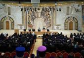 Святейший Патриарх Кирилл огласил статистические данные о церковной жизни Московской городской епархии за 2016 год