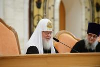 Святейший Патриарх Кирилл: Проповеднику не следует полагаться исключительно на вдохновение и риторические штампы