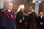 Митрополит Кишиневский и всея Молдовы Владимир присутствовал на церемонии инаугурации президента Республики Молдова Игоря Додона