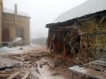 При обстреле Дебальцево разрушена воскресная школа Александро-Невского храма