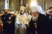 Святейший Патриарх Болгарский Неофит посетил подворье Русской Православной Церкви в Софии