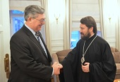Митрополит Волоколамский Иларион встретился с новоназначенным послом России в Швейцарии
