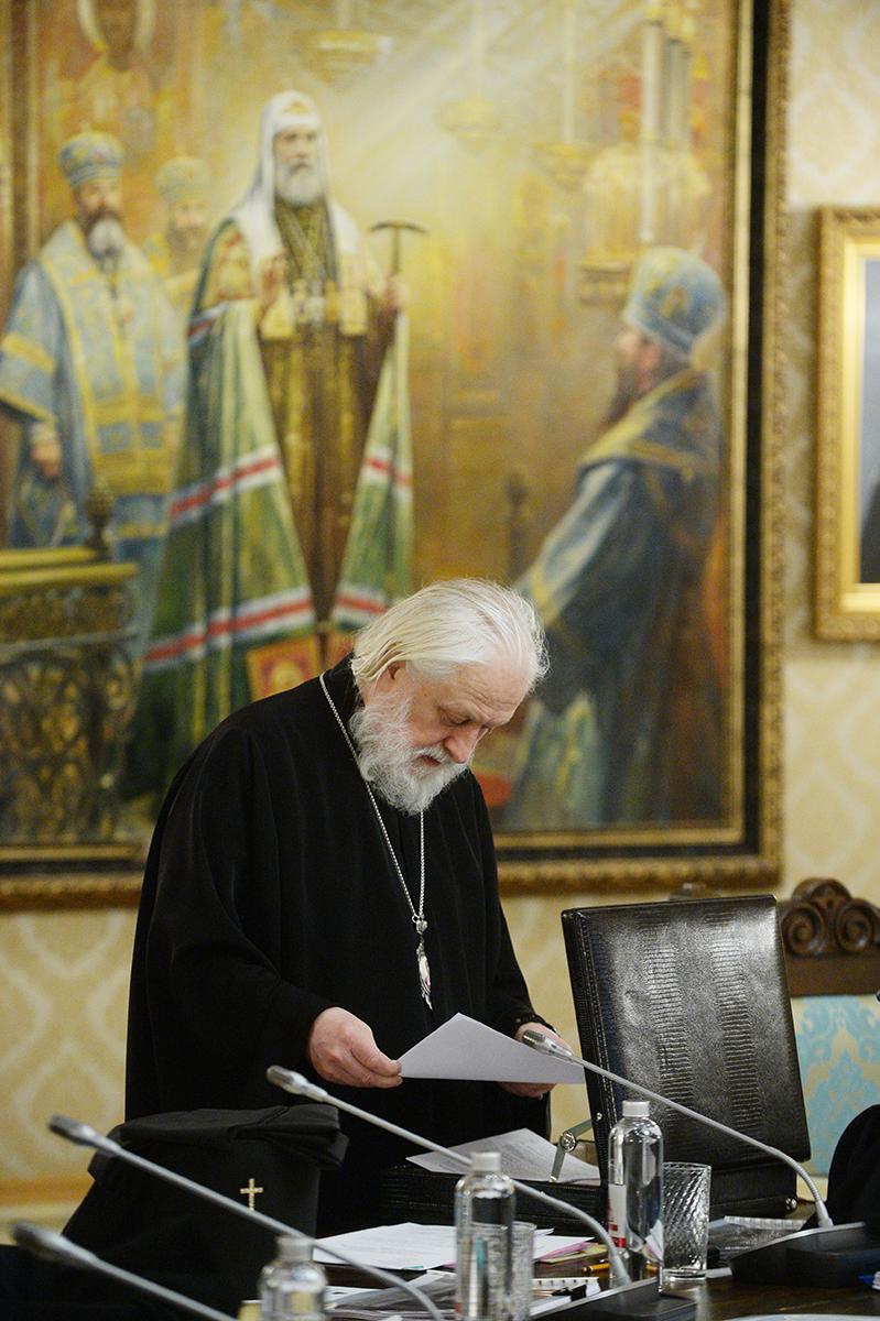 Заседание Высшего Церковного Совета 29 декабря 2016 года
