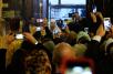 23 января. Всенощное бдение в Крестовоздвиженском кафедральном соборе Женевы.