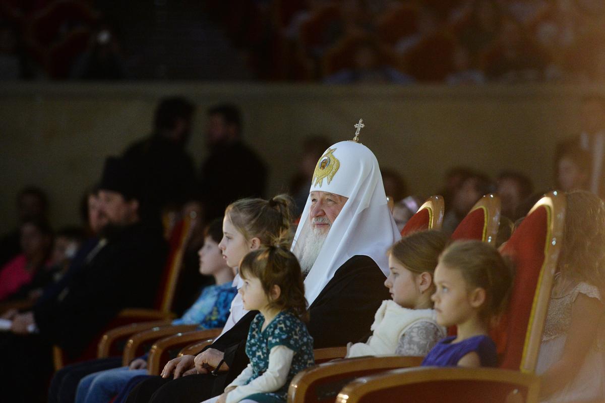 7 января. Посещение Патриаршей Рождественской елки в Храме Христа Спасителя