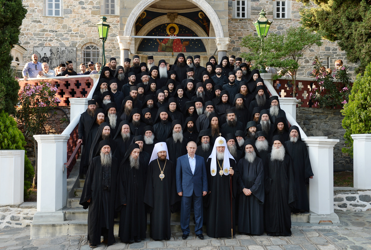 28 мая. Визит в Грецию. Посещение Святой Горы Афон