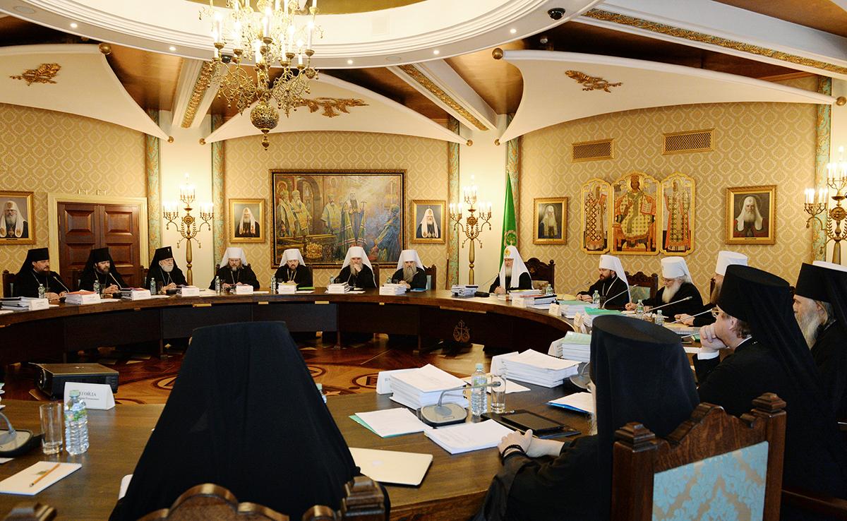 23 марта. Заседания Высшего Церковного Совета