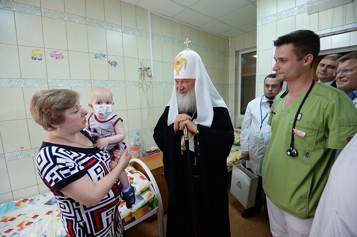 28 июля. Посещение Научно-клинического центра медицинской помощи матерям и детям в Орле