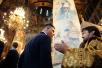 27 июля. Молебен в Патриаршем Успенском соборе Московского Кремля накануне отъезда Олимпийской сборной России на летнюю Олимпиаду в Рио-де-Жанейро
