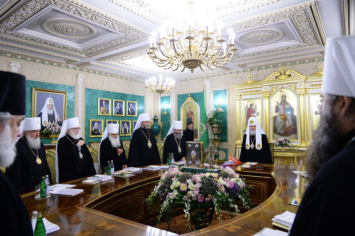 15 июля. Заседание Священного Синода Русской Православной Церкви