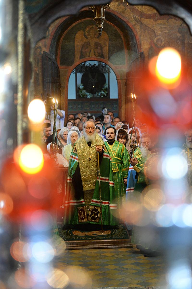 17 июля. Служение в Троице-Сергиевой лавре