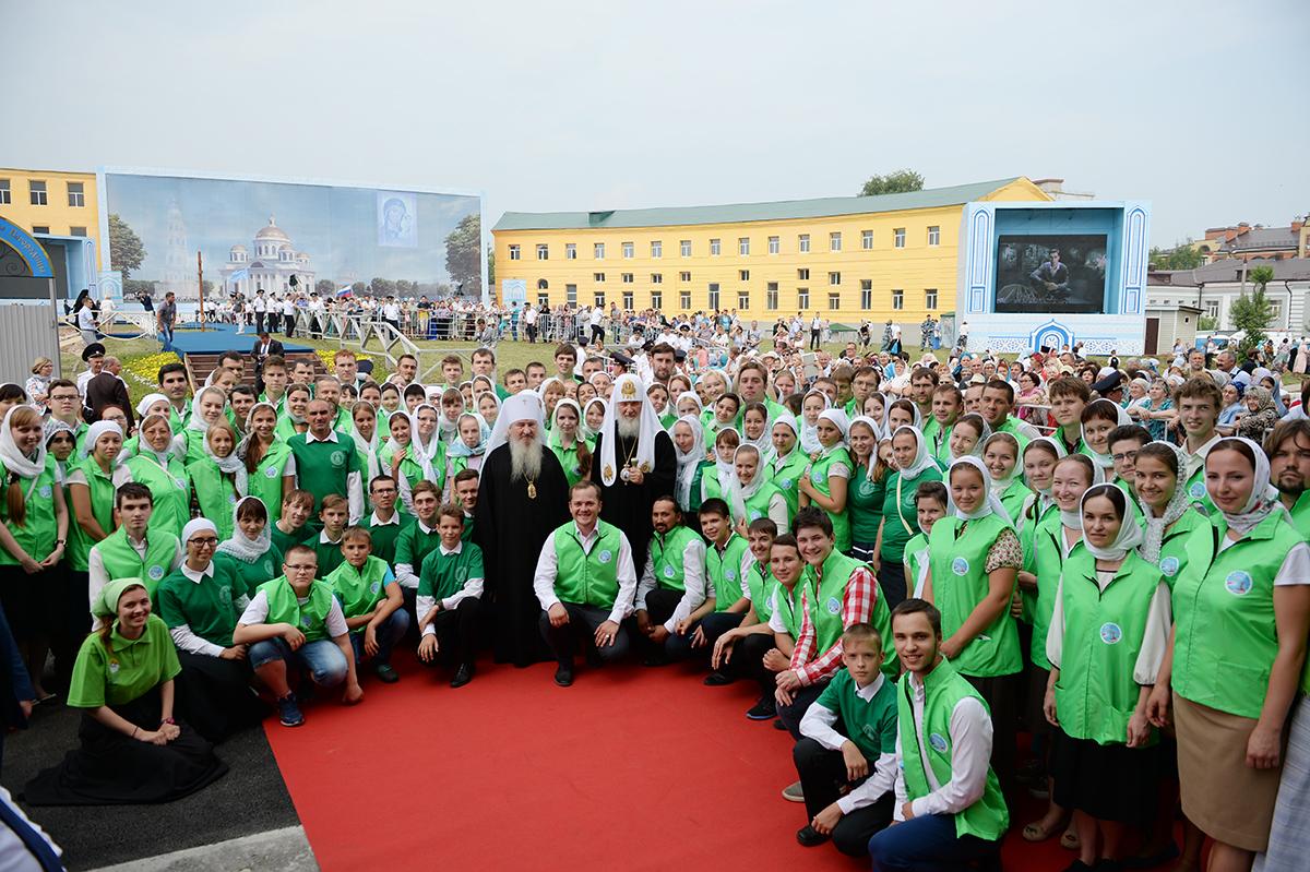 21 июля. Патриарший визит в Татарстанскую митрополию