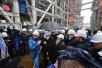 9 сентября. Патриарший визит в Салехардскую епархию. Посещение завода «Ямал СПГ» и морского порта поселка Сабетта