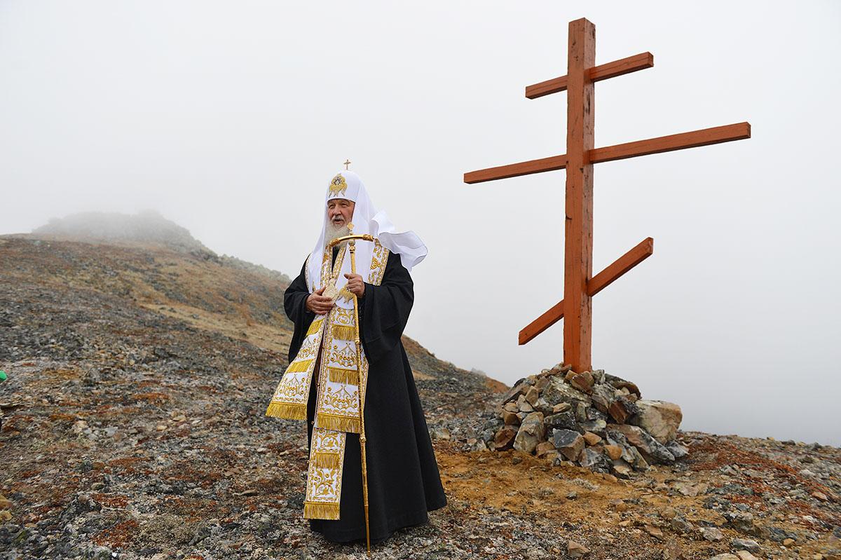 8 сентября. Патриарший визит в Анадырскую епархию. Посещение о. Ратманова